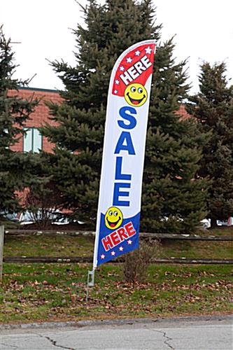 Sale Here Flag