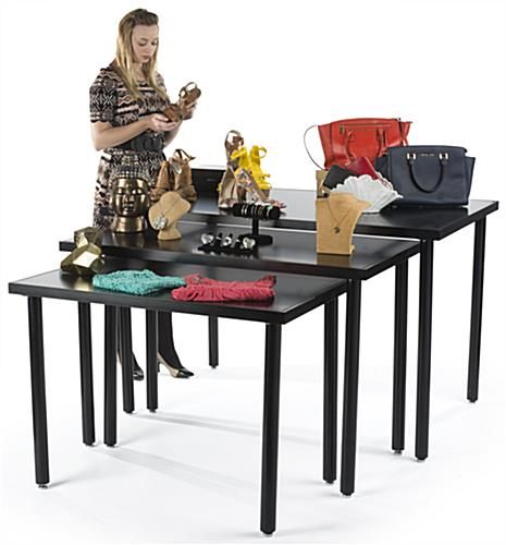 Tall Black Nesting Tables