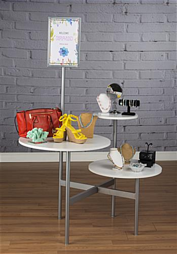 Modern Display Table for Retail Shops