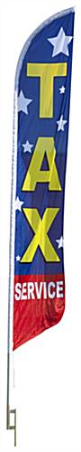 Tax Service Feather Flag