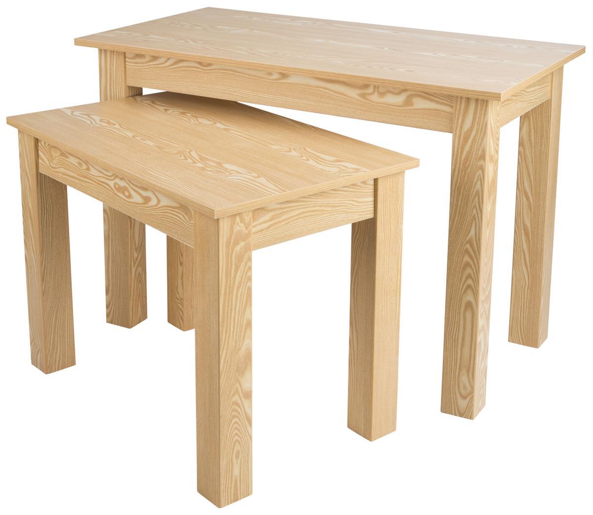 Wood Nesting Tables Set Of 2 Displays