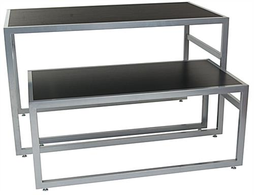 Modern nesting tables contemporary furniture displays go