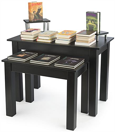 Retail Nesting Table can Promote Any Merchandise