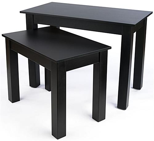 Retail Nesting Table with Melamine Finish