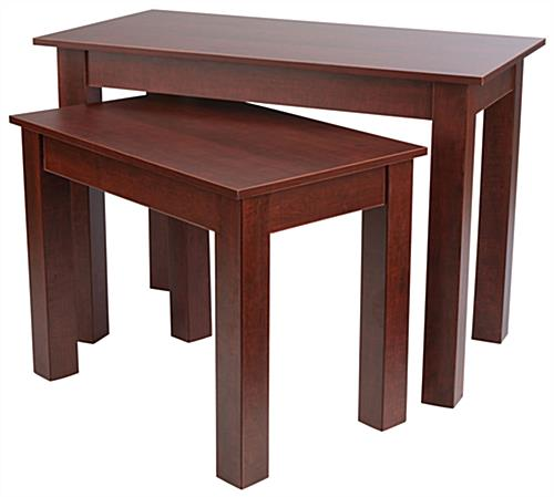 Durable Cherry Wood Nesting Tables ...