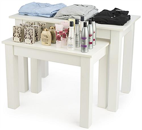 Small Nesting Table Set Promoting Merchandise