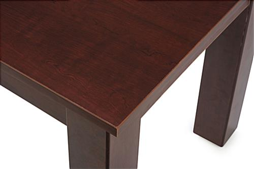 Cherry Nesting Tables with Wood Grain Finish