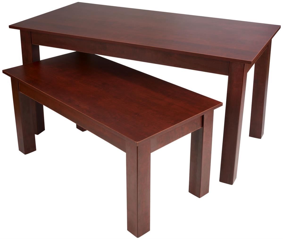 Cherry Nesting Tables Rectangular Build