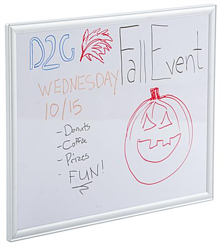 "18"" x 24"" Whiteboard with Aluminum Frame"