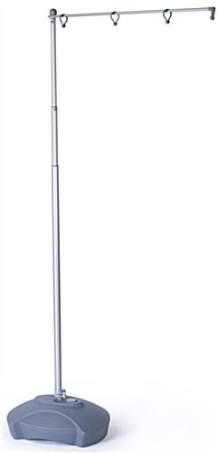 Outdoor Flag Pole Stands Are Adjustable Banner Not Included