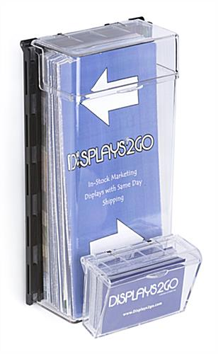 Wall Mounted Outdoor Leaflet Dispenser