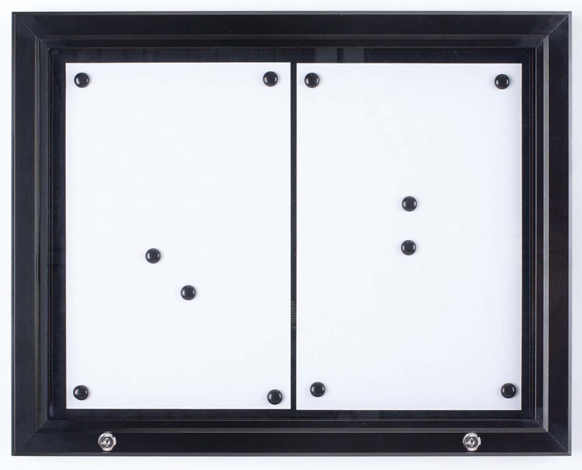 Menu Display Case Outdoor Rated Amp Locking Magnetic Surface