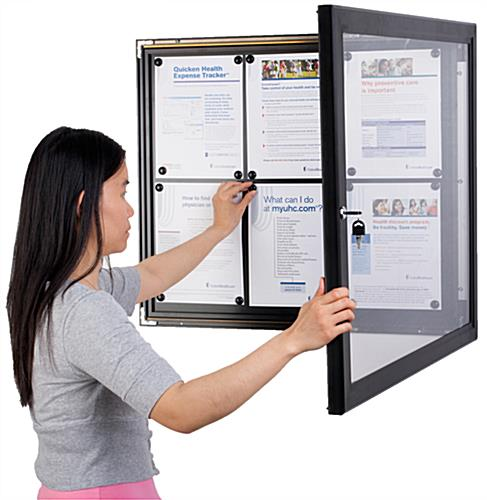 Outdoor Menu Case, Horizontal