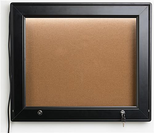 Waterproof LED Menu Corkboard
