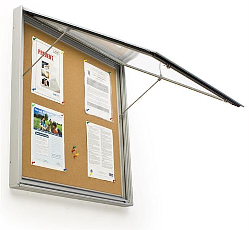Delightful Exterior Bulletin Boards Model Collection Classy Enclosed Tackboards Rated  For Outdoor Use Design Ideas