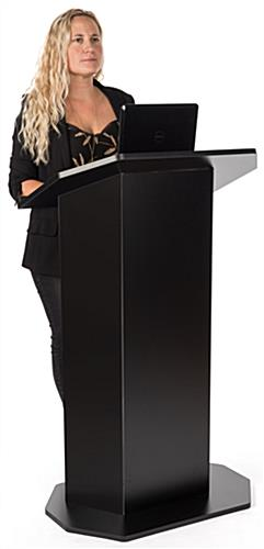 Black economy pulpit for presentations