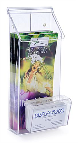 Acrylic Outdoor Flyer Dispenser