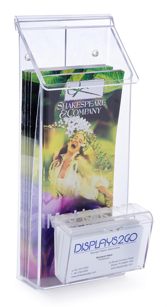 Outdoor Flyer Dispenser | Multi Pocket Clear Acrylic