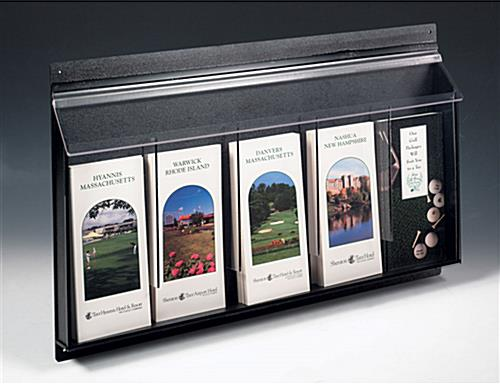 Outdoor Literature Holders 5 Pocket Wall Racks