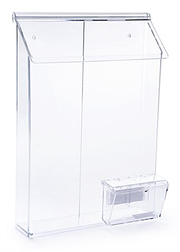 Outdoor Literature Dispenser Weather Resistant Acrylic