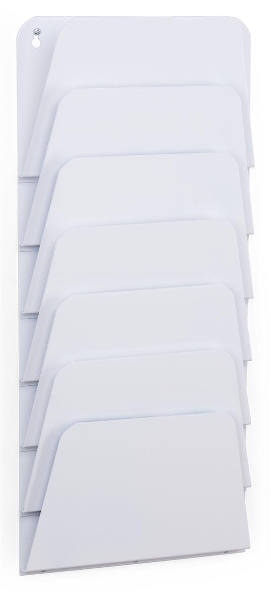 Wall Mount White File Pocket Fits Legal Amp Letter Size