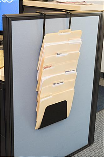Cubicle Hanging File Holder, Fits Any Size Files