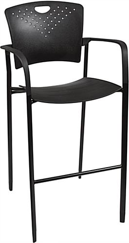 Stackable Stool Chair Curved Back and Seat for Comfort : ossbistrwpreview from www.displays2go.com size 265 x 500 jpeg 14kB