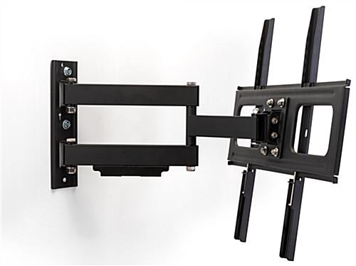Outdoor TV wall bracket in texture black