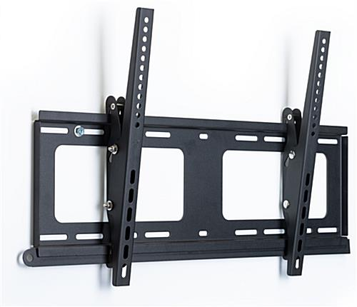 Powder-coated outdoor TV wall mount with tilt