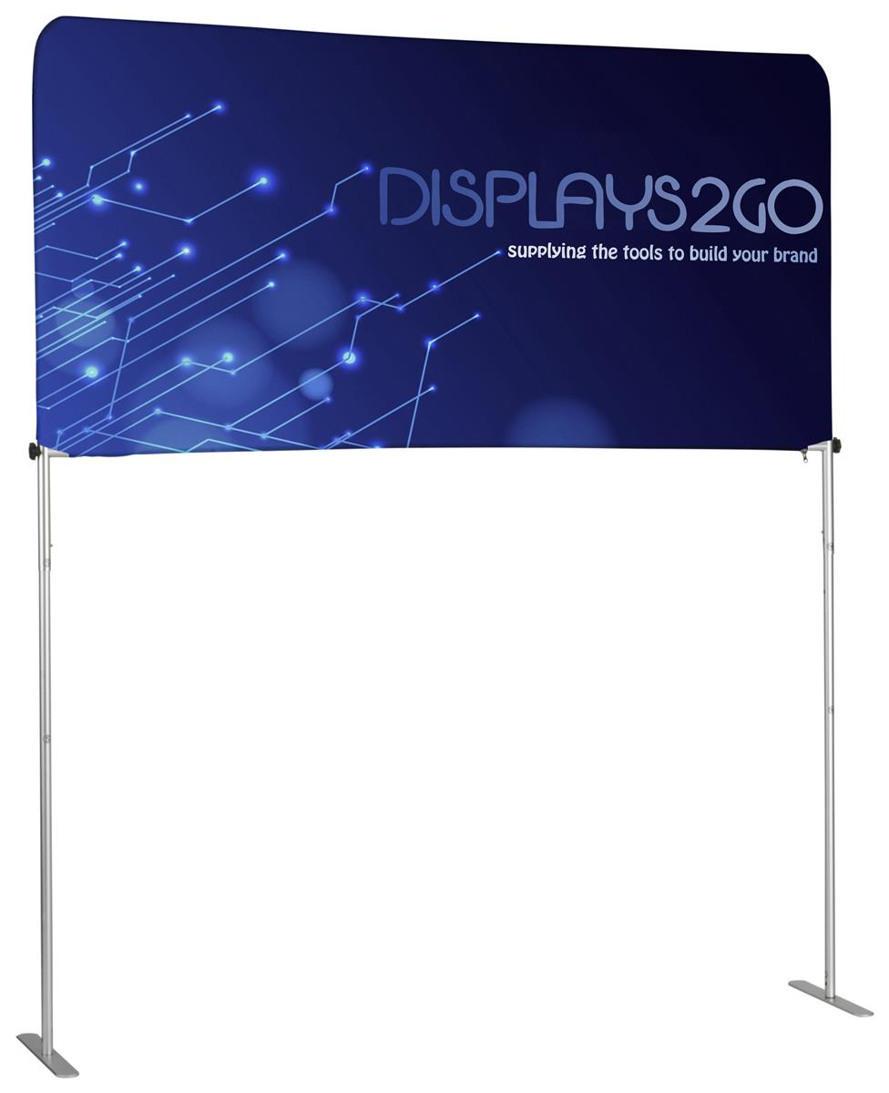 6 trade show table header double sided custom printing for Table header