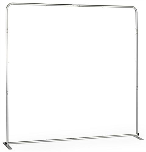 6' Trade Show Table Backdrop has an Easy to Set Up Frame