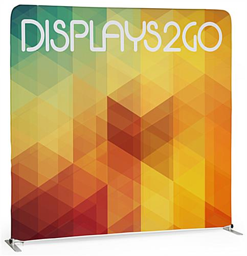 6' Trade Show Table Backdrop Includes Two Sided Graphics