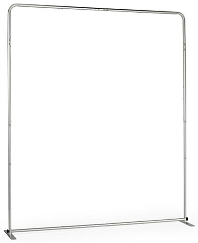 6' Trade Show Booth Backdrop with Click-Into-Place Assembly