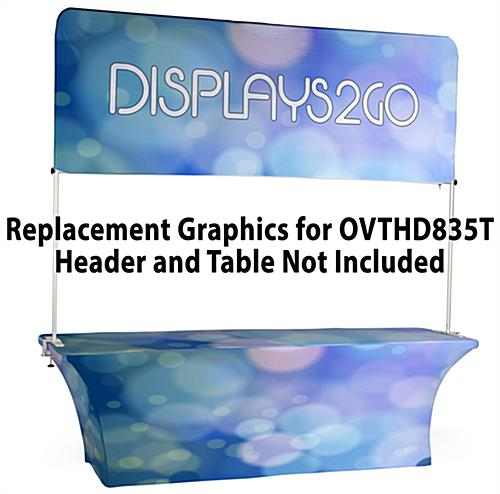 Replacement Graphics for OVTHD835T  (Header & Table Graphic Only)