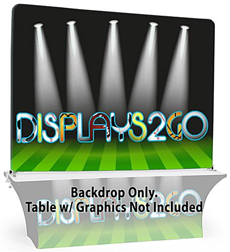 Use a 8' Trade Show Table Backdrop to Impress Industry Peers at Your Next Event