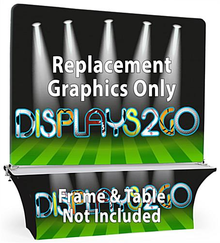 Replacement Graphics for OVTHD871T (Frame & Table Not Included)