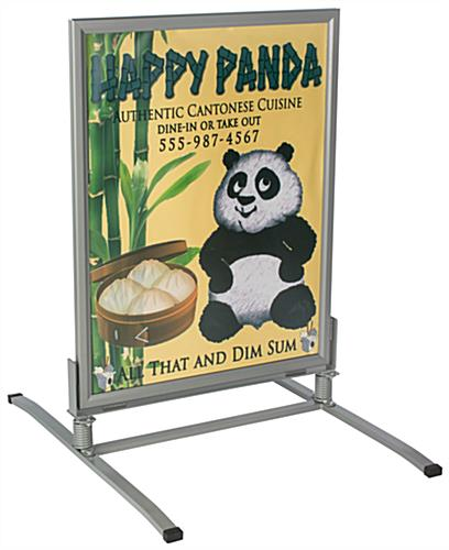 "Double Sided Weatherproof Sandwich Board for 30""X40"" Signs"