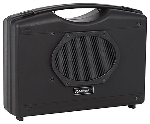 Portable personal sound system with built-in speaker