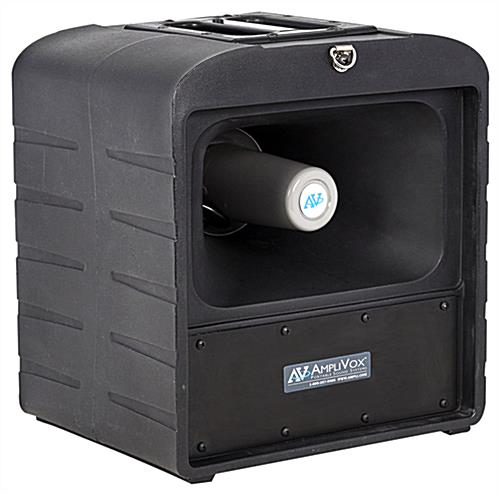 Wireless portable PA system broadcasts crystal clear voice