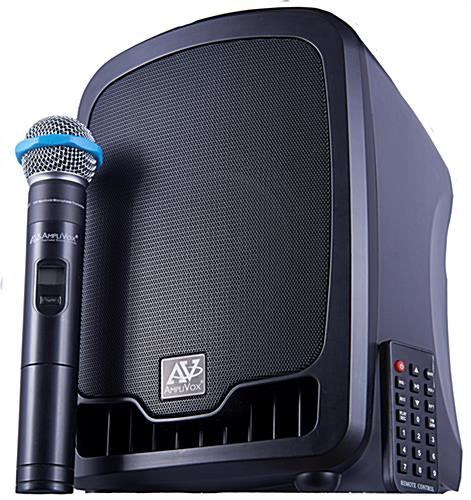 All-in-one wireless compact PA media system offers big sound in small form