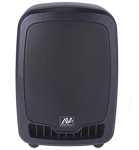 All-in-one wireless compact PA media system with ergonomic shape
