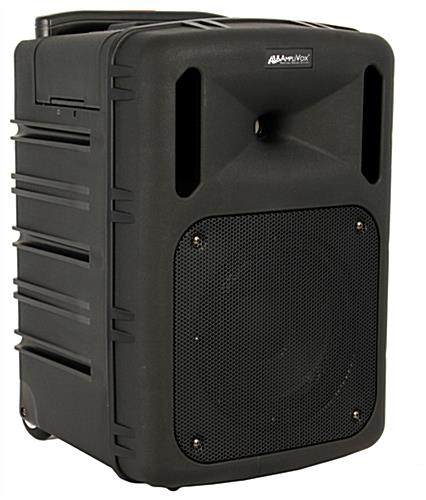 Portable wireless PA system is an all-in-one presentation powerhouse