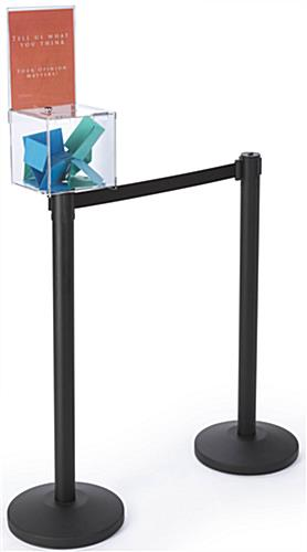 1 Ballot Box Stanchion Topper