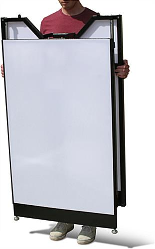 "Lightweight Custom Graphic LED 40"" Portable Bar"