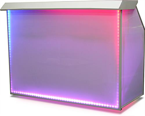 "8 Color Option LED 65"" Portable Bar"