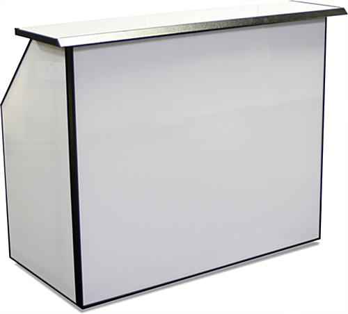 Portable Folding Bar 2 Ice Bins Sunken Speed Well
