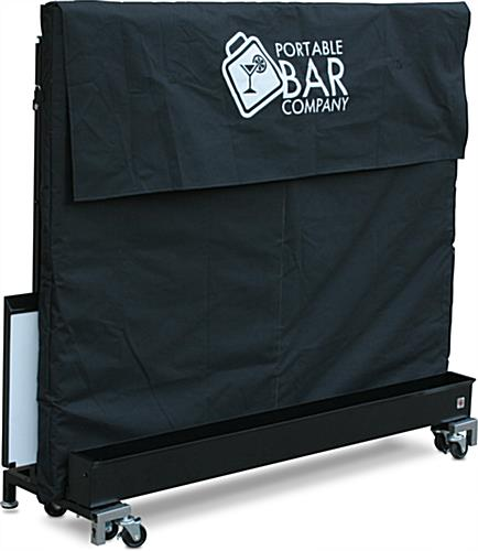 "Covered LED 62.75"" Portable Bar"