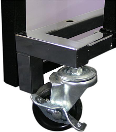 ... Rolling Custom Graphic LED 62.75u201d Portable Bar ...