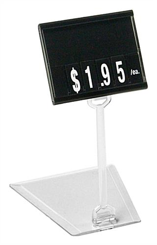 Plastic Price Tag Stand