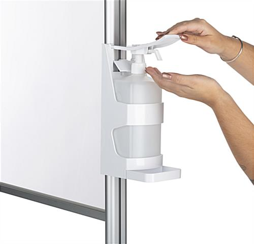 1000ml sanitizer bracket dispenser for PCSG series with easy application